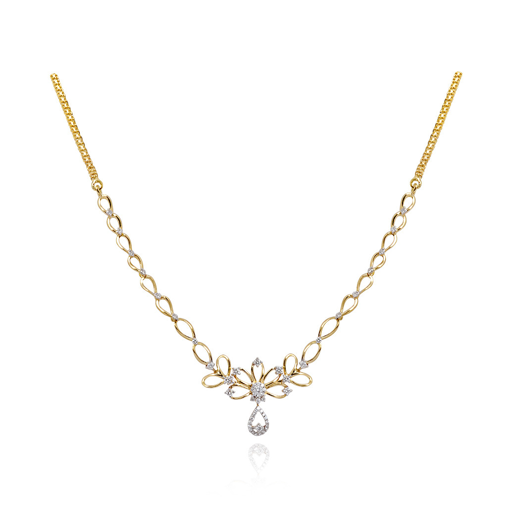 22K Gold Uncut Diamond Necklace Sets Indian Gold Jewelry
